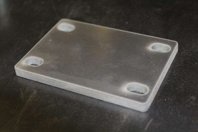 waterjet plate